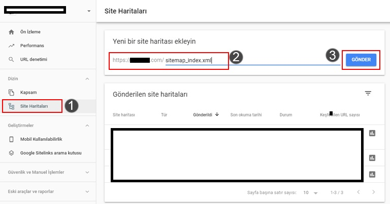 google-site-haritasi-ekleme